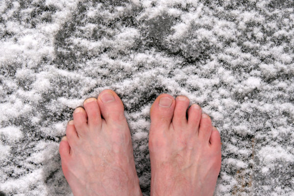 Frostbitten Toes…Oh No!